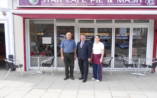 New Cafe In Southend High Street