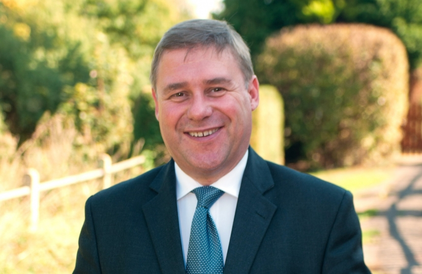 Mark Francois MP who praised local schools during a general debate commemorating the battle of Passchendaele.