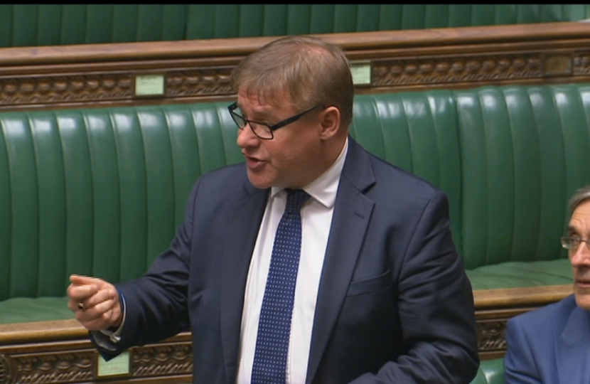 Rayleigh and Wickford MP Mark Francois speaking in the House of Commons and calling for the Royal Navy to establish a reserve fleet of escorts.