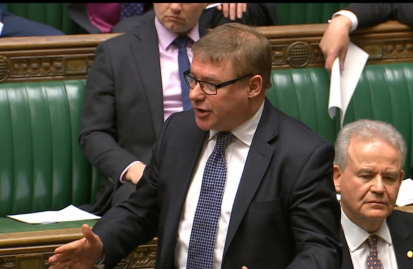 Rayleigh and Wickford MP Mark Francois standing up for the rights of British fishermen at Prime Minister's Questions in the House of Commons